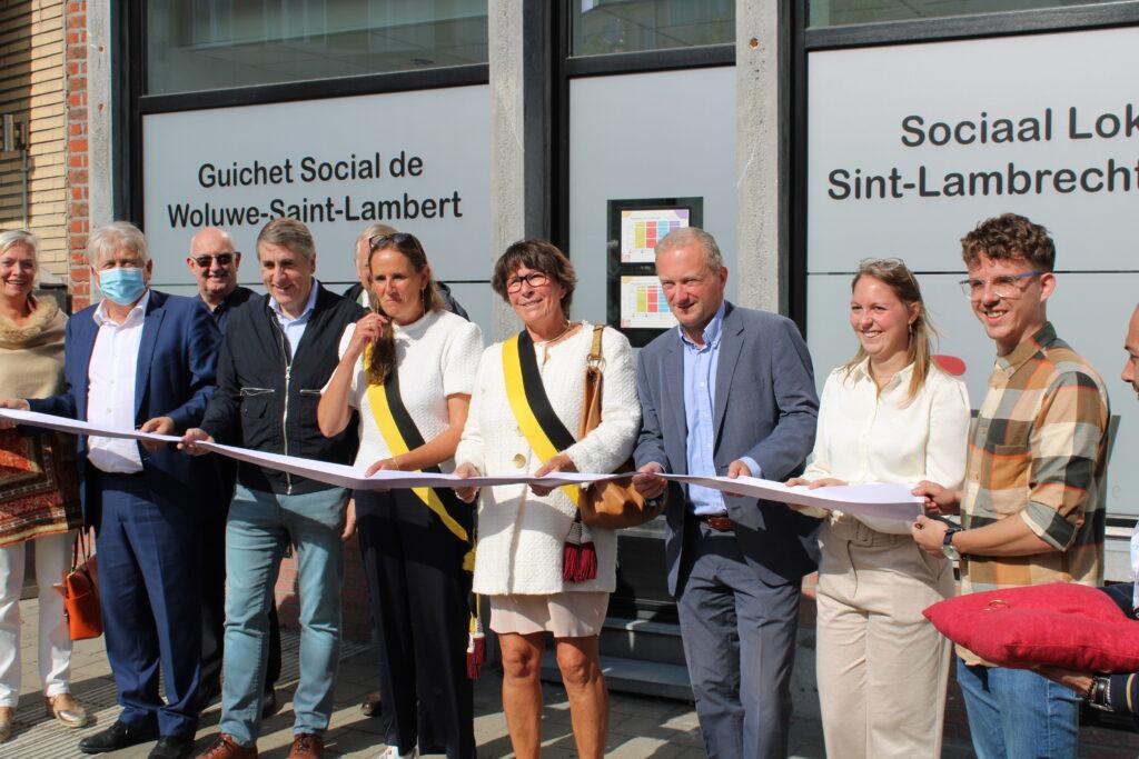 Inauguration Guichet Social